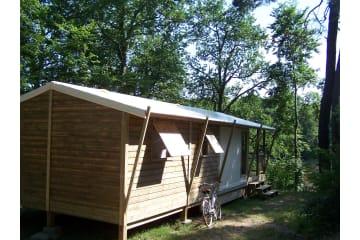 Chalet - 2 chambres - 1 salle de bain - Lodge - Parc de Fierbois