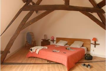 Gîte - 1 chambre - 1 espace chambre - 1 salle de bain - Le Paulownia - - Parc de Fierbois