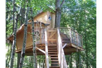 Cabane familiale - 30 m2 - - Parc de Fierbois