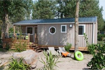 Cabane de la Réserve STANDARD 6p 3 chambres - Les Méditerranées - Beach Garden