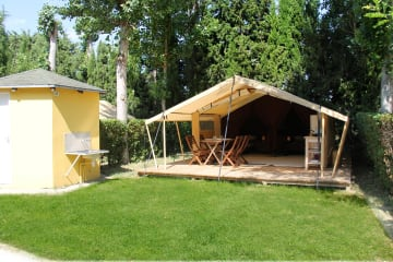 TENTE LODGE 4 pers.( 2 adultes + 2 enfants) - Le Dauphin