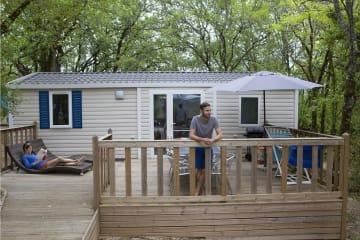 MOBIL HOME ACCESS - 2 chambres - Pour personnes à mobilité réduite - La Paille Basse