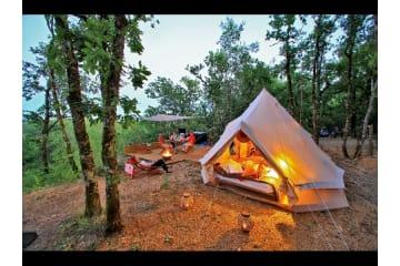 TENTE GLAMPING - Deux tentes sur l'emplacement - La Paille Basse