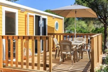 Cottage Yellow Corner 28 m² - 2 chambres + climatisation - Holiday Green