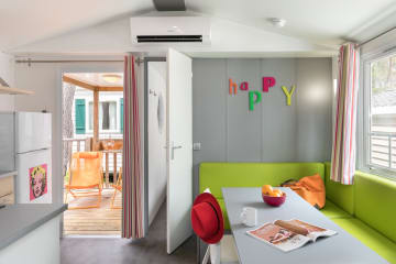 Cottage Pop Art 32 m² - 3 chambres - Climatisation - Terrasse couverte - Holiday Green