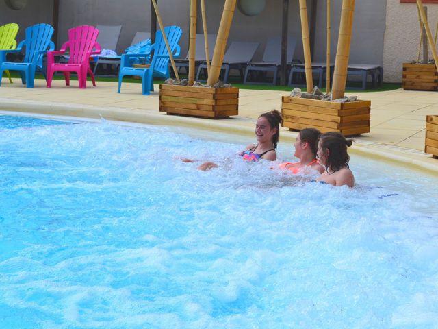 A new AquaZen area at the Le Floride campsite