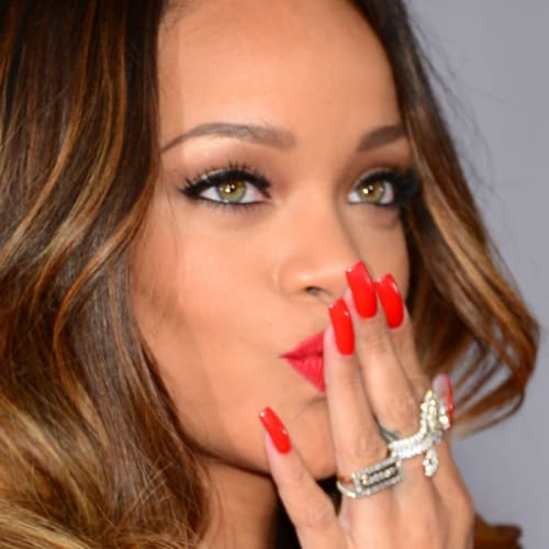 Nailing a Red Manicure