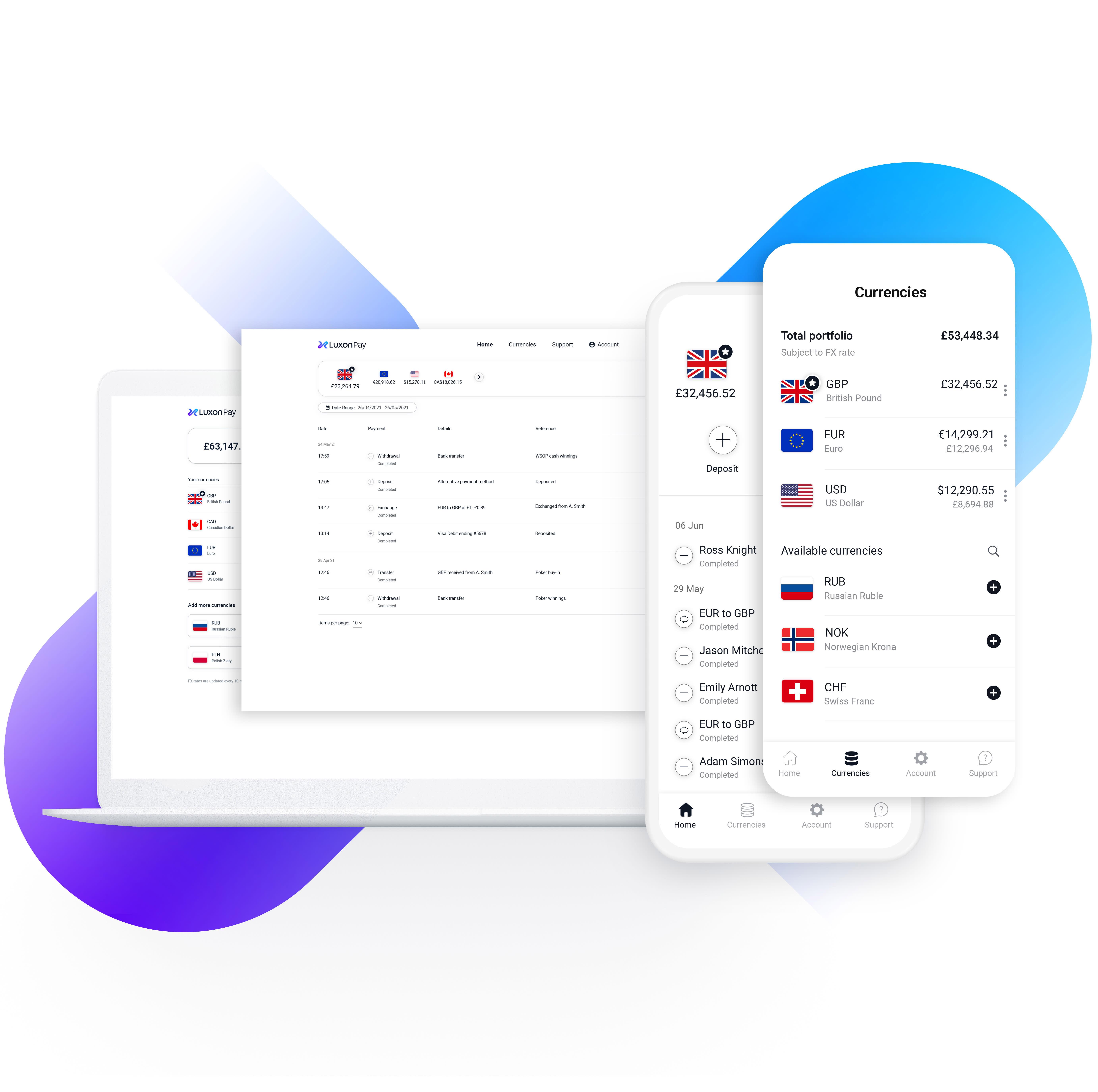 Luxon Pay eWallet Promo Image