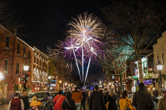 Celebrate New Year's Eve in Alexandria