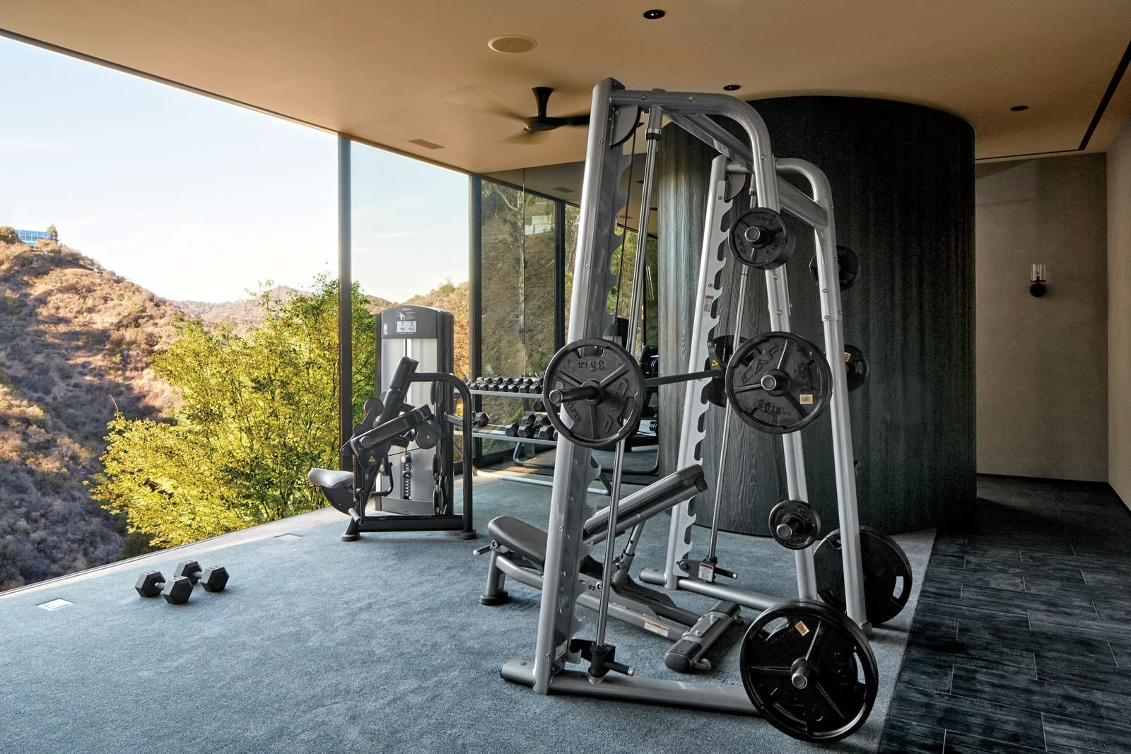 Home gyms that will motivate you to stick with your New Year's fitness goals