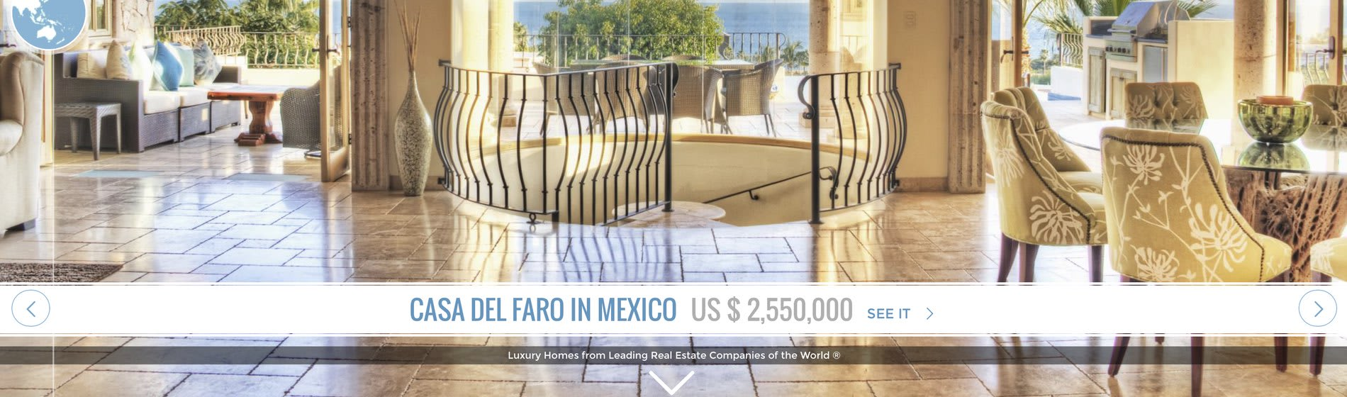 Cabo Real Estate – Casa Del Faro – Featured in Luxury Portfolio International