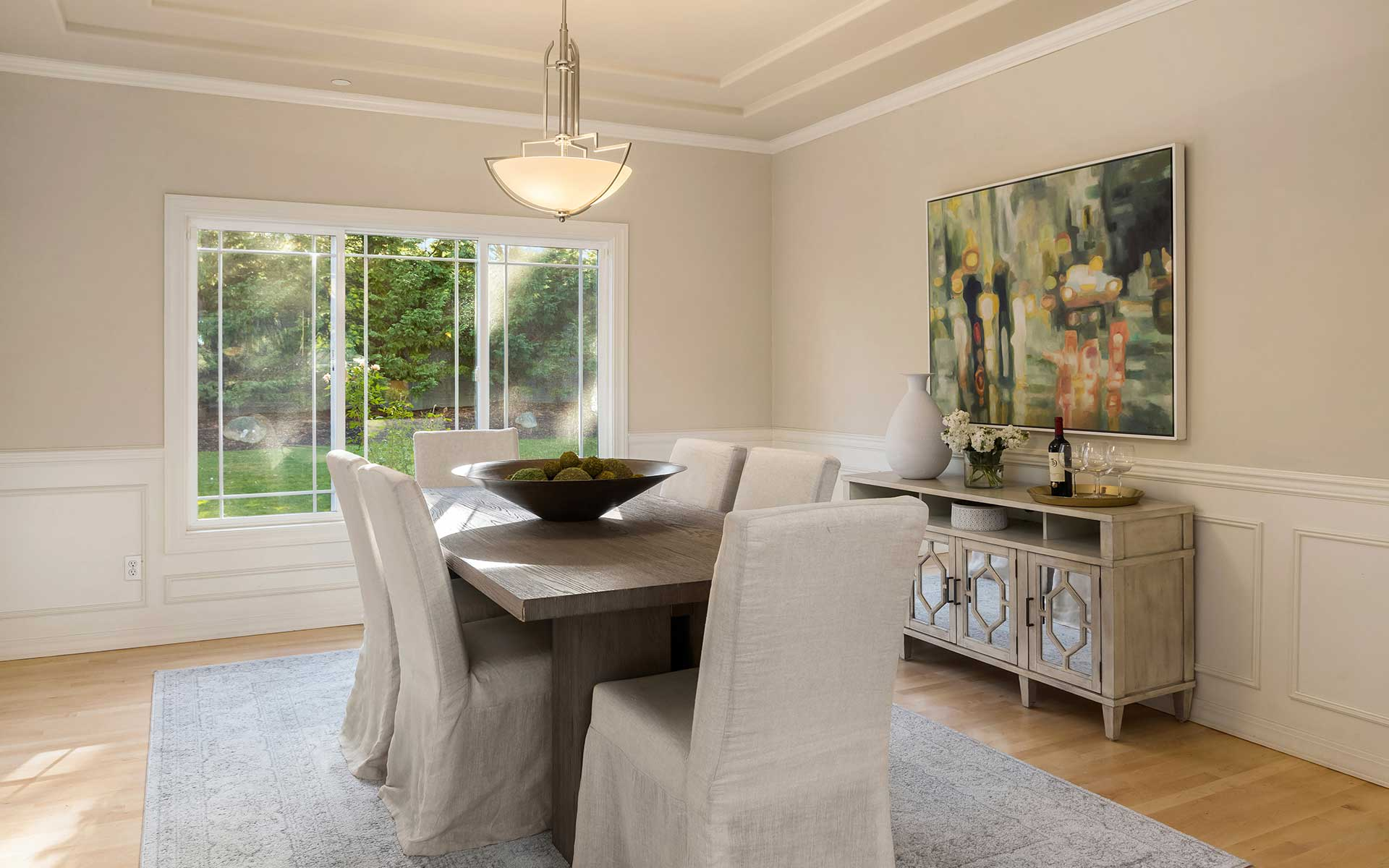 Stately Design in a Private Setting on Yarrow Point photo