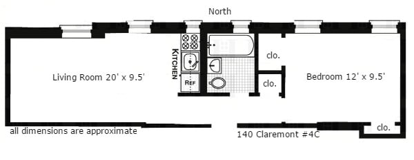 140 Claremont Ave, Unit 34 photo