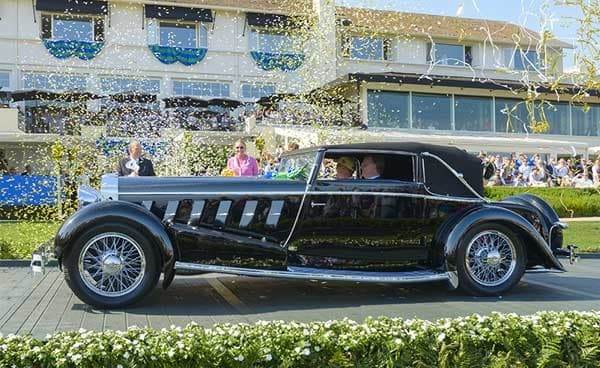 History of the Pebble Beach Concours d'Elegance