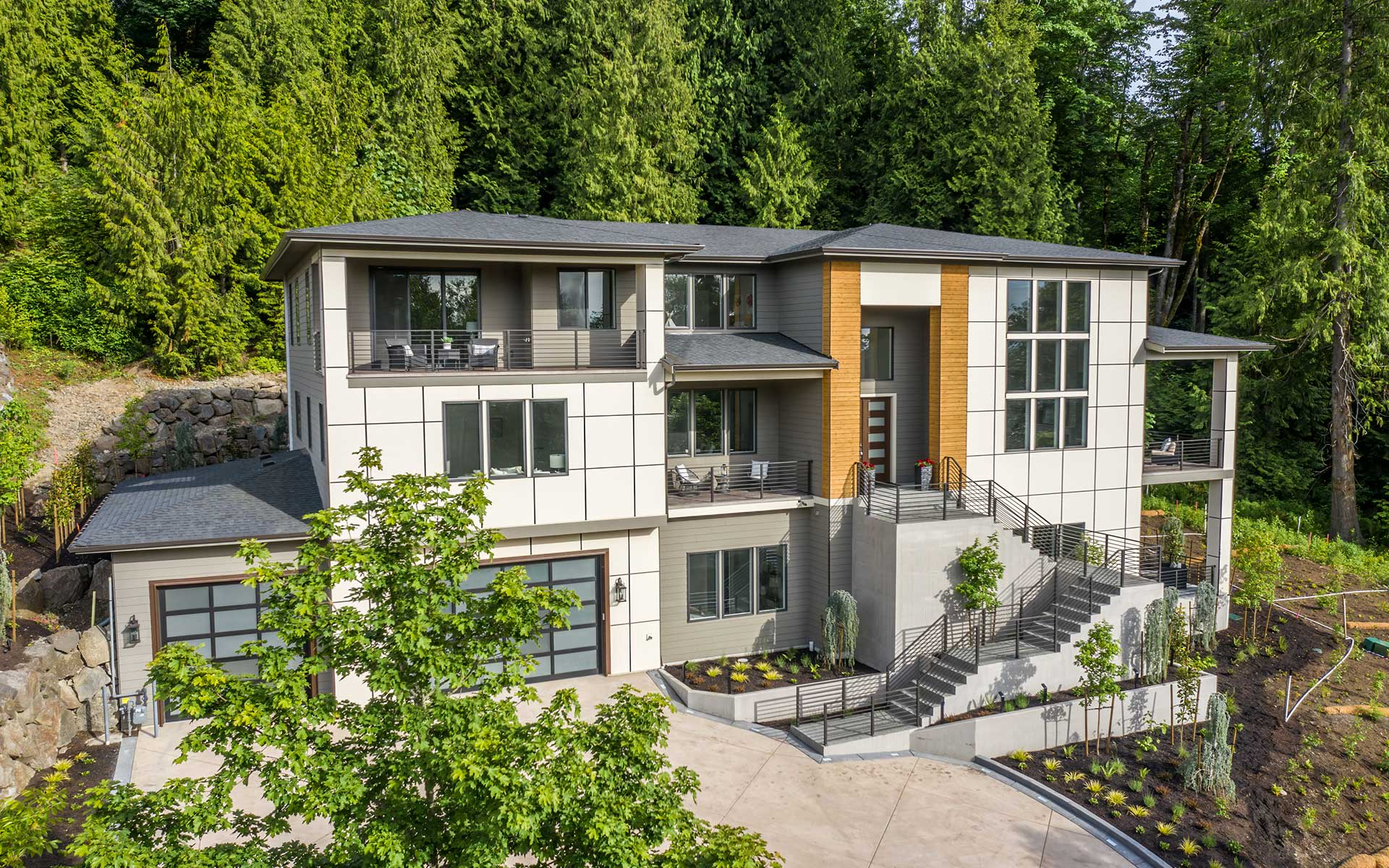 Luxe Northwest Retreat Perched on Cougar Mountain photo