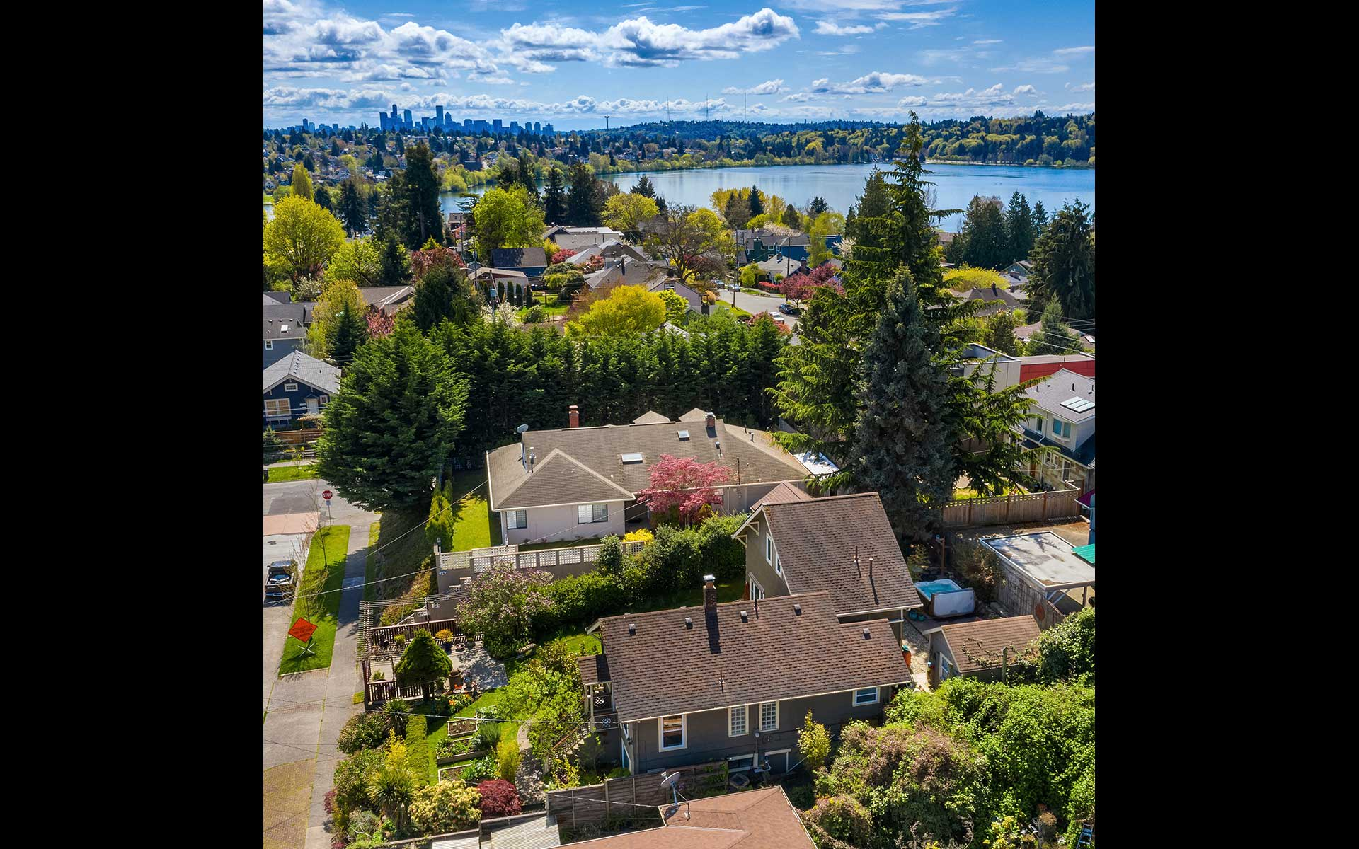 Seattle Charm on a Quiet Street in Green Lake photo