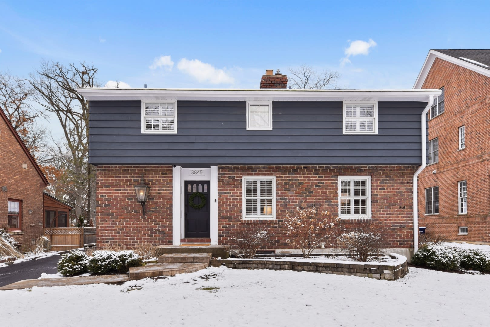 charming home in coveted Old Town area of Western Springs is simply beautiful.