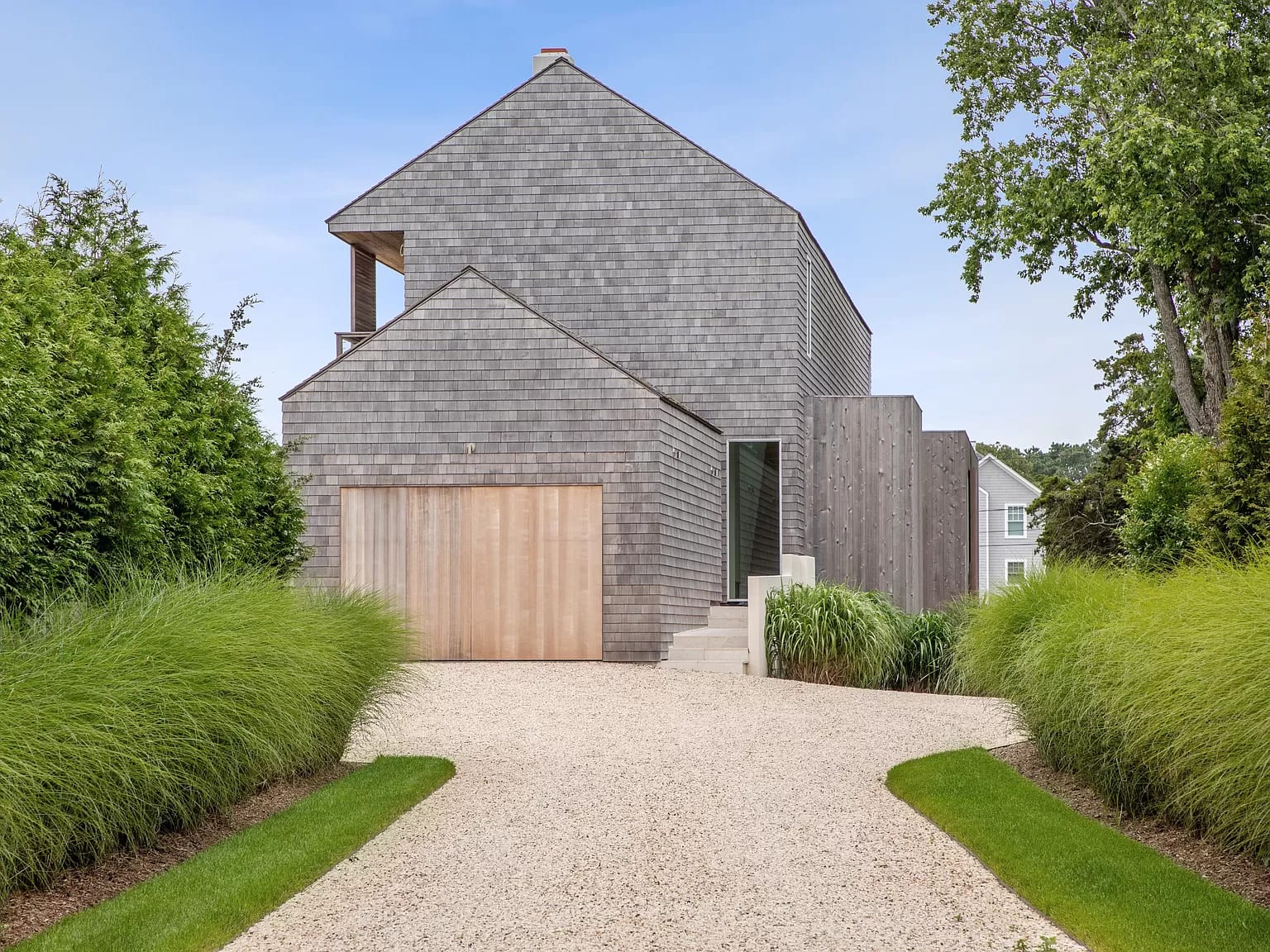 Newly Built Contemporary Barn with Bay Views
