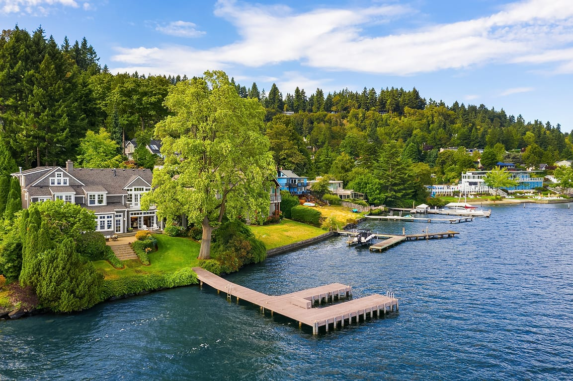 Hamptons Style on Mercer Island photo