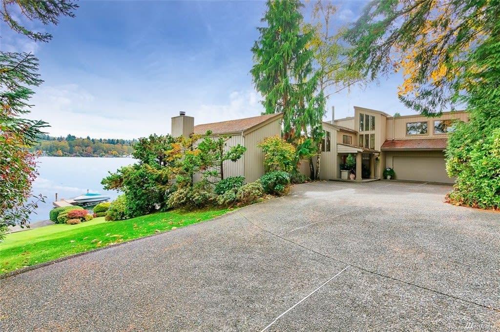 Elegant Lakeside Home photo