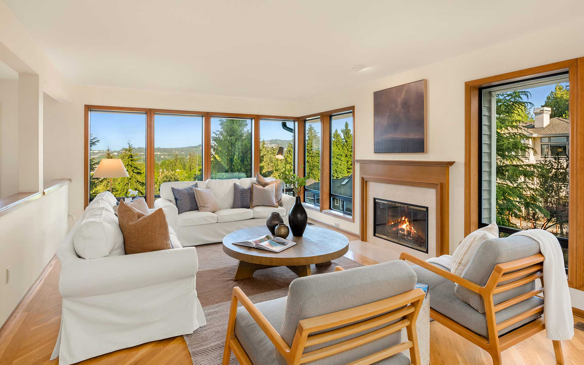 Northwest Style & Views on Mercer Island photo