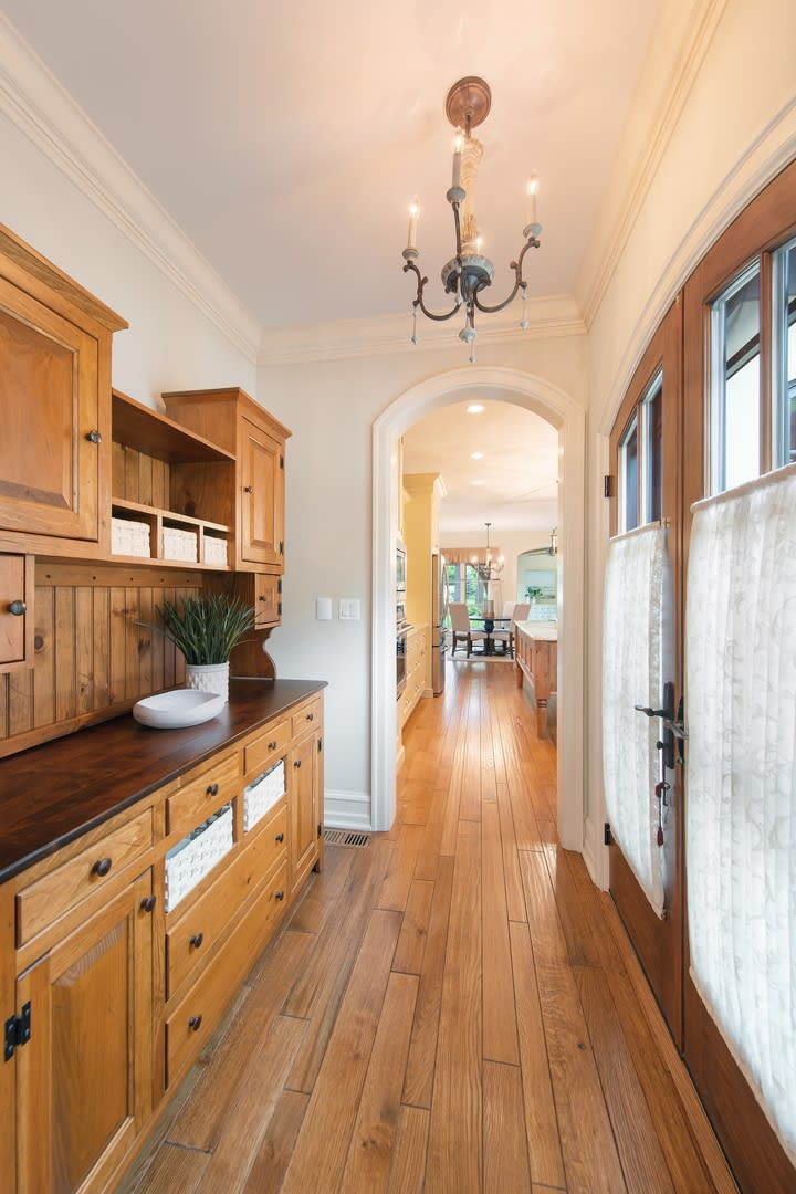 This French Provincial home is absolute perfection