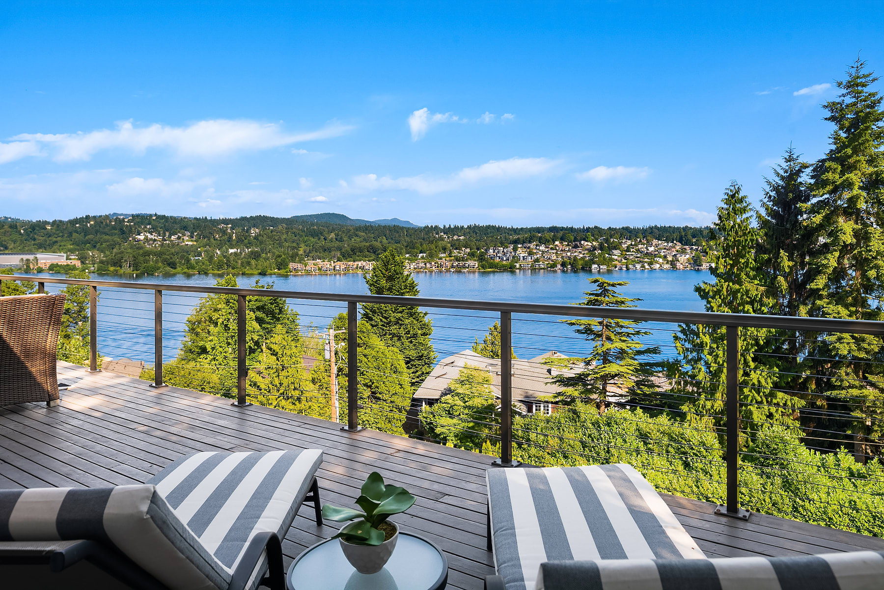 Light & Bright Remodel with Stunning Lake Views photo