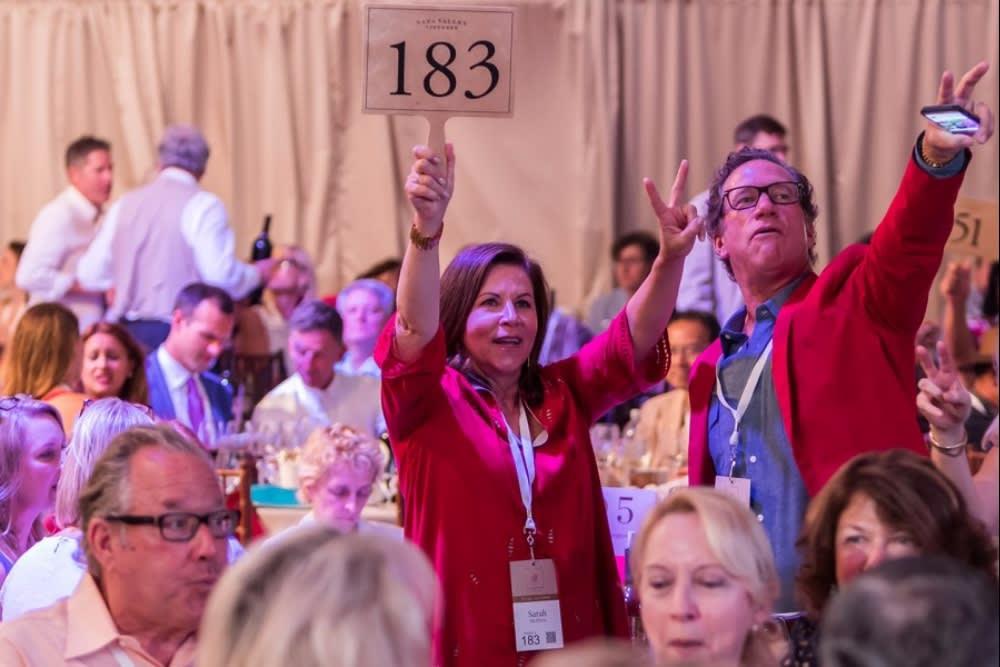 Auction Napa Valley Raises $14.3 Million for Charity
