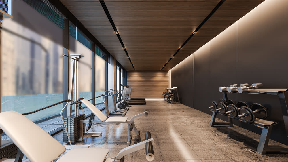 Inspirational and Stylish Home Gyms