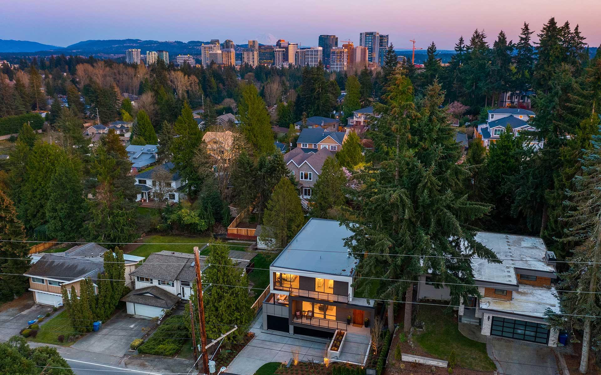 Sophisticated New Northwest Minimalist in West Bellevue photo