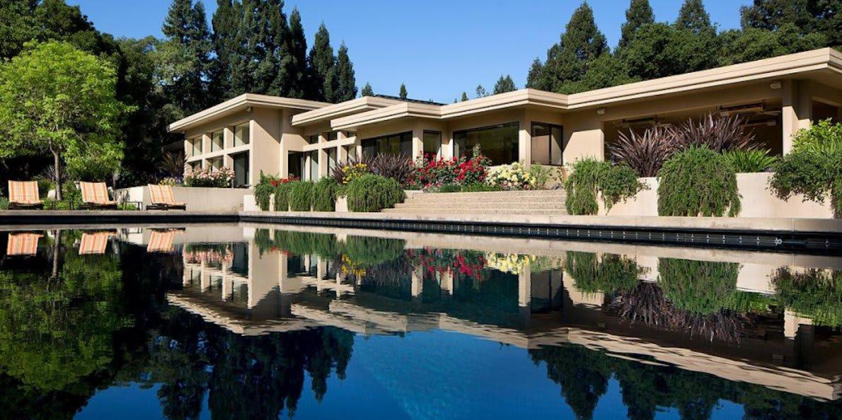 Impressive Real Estate Portfolios From Tech's Leading CEO's
