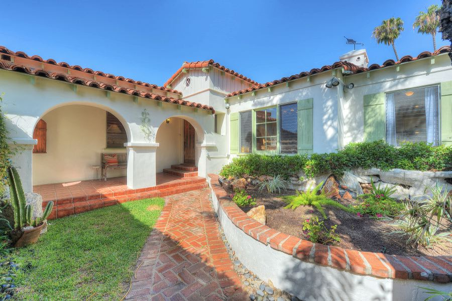 1935 Cecil Gale Spanish Hacienda-Inspired Home preview