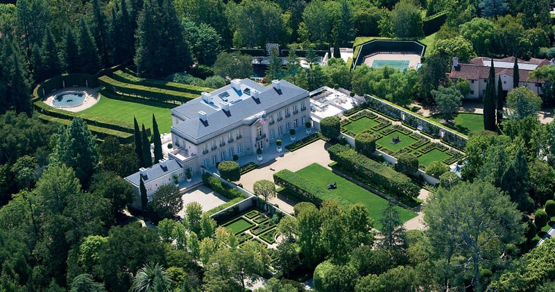 Behind the Gates: America's Most Expensive Home is $350 million in Bel-Air