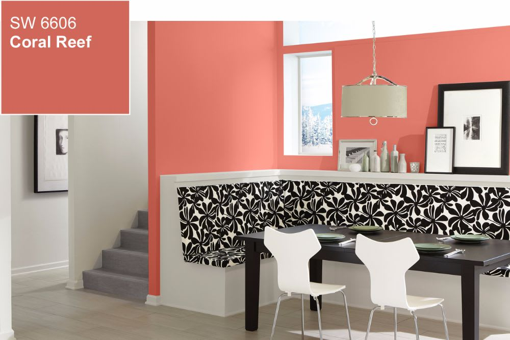 2015 Color of the Year: Coral Reef