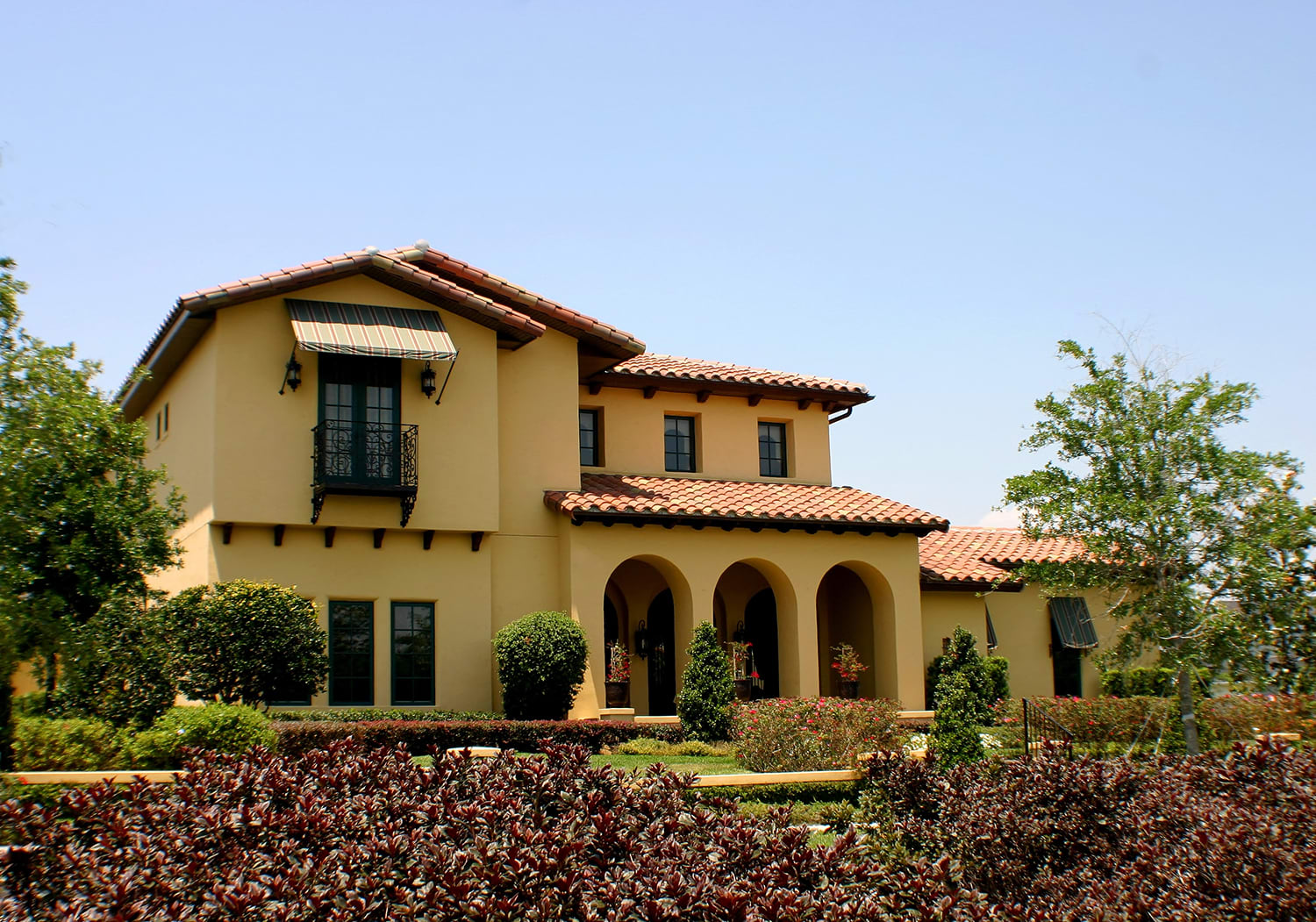 Spanish Style Architecture in Beverly Hills