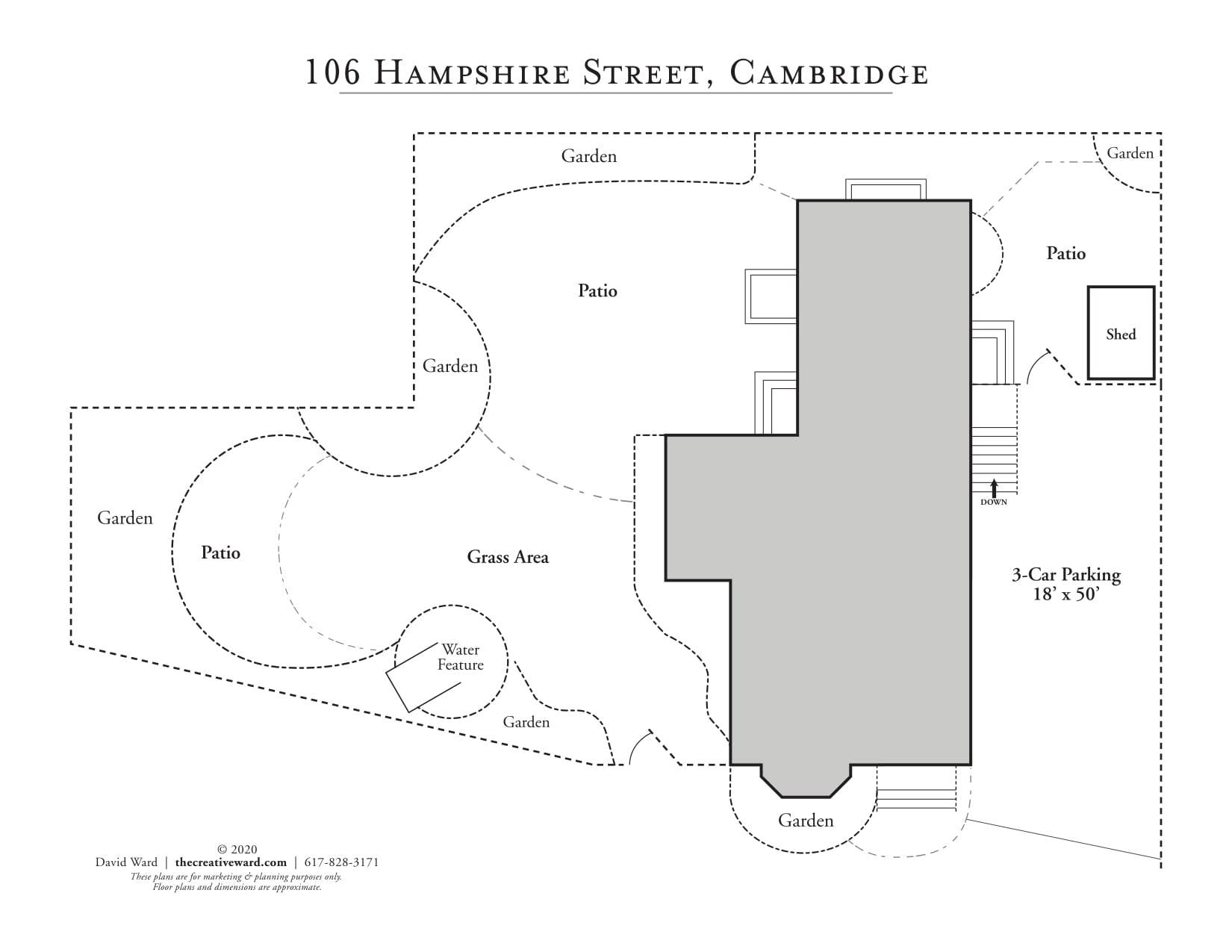 106 Hampshire Street, Cambridge—Single Family! photo