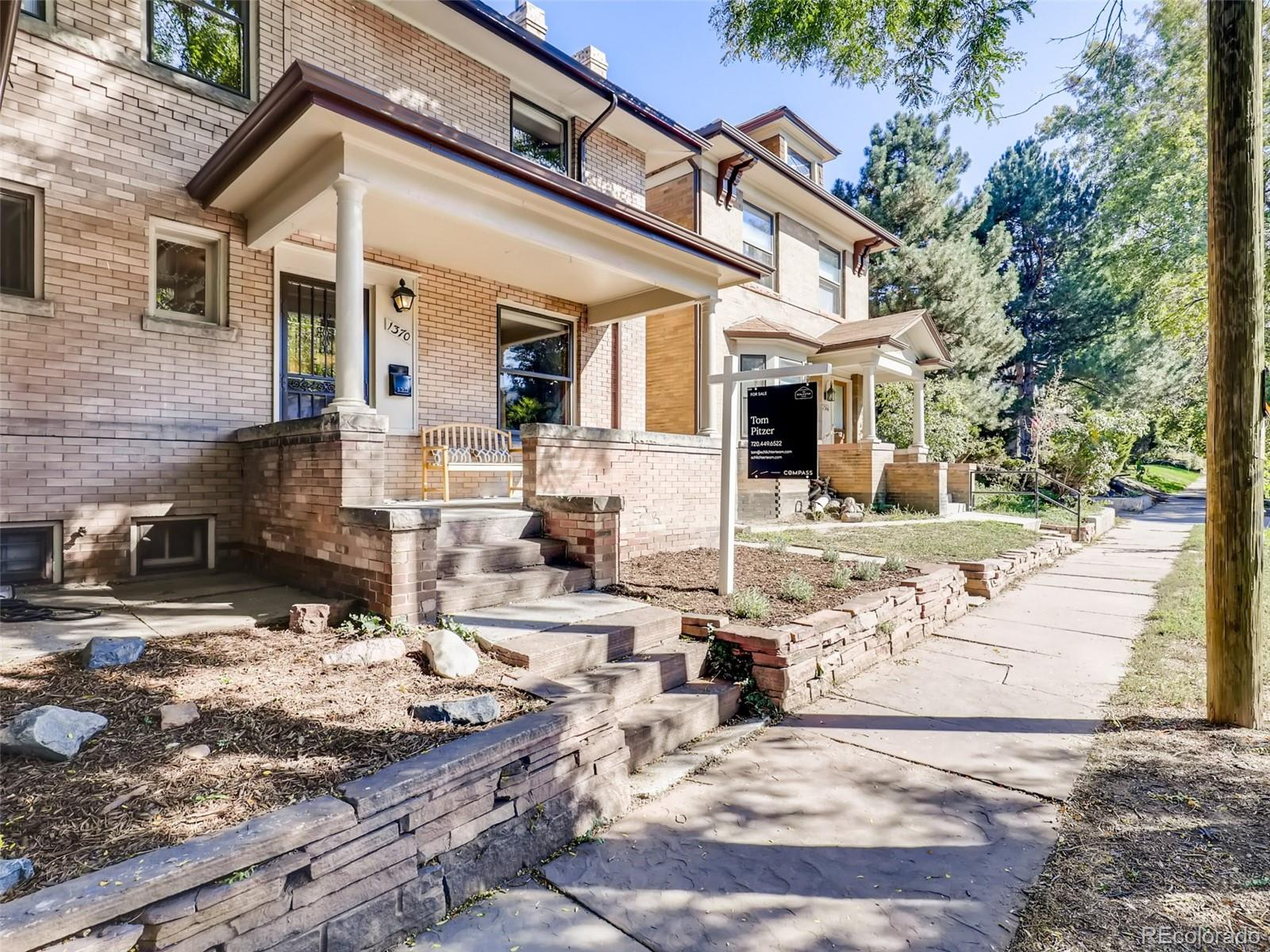 Rare Attached Denver Square Steps From Cheesman Park photo