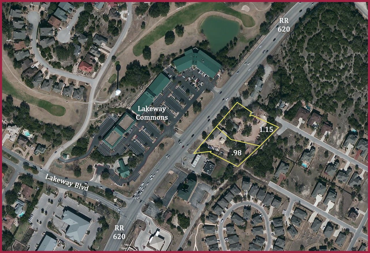 Flat Lakeway Commercial Lot Prime 620 Frontage photo