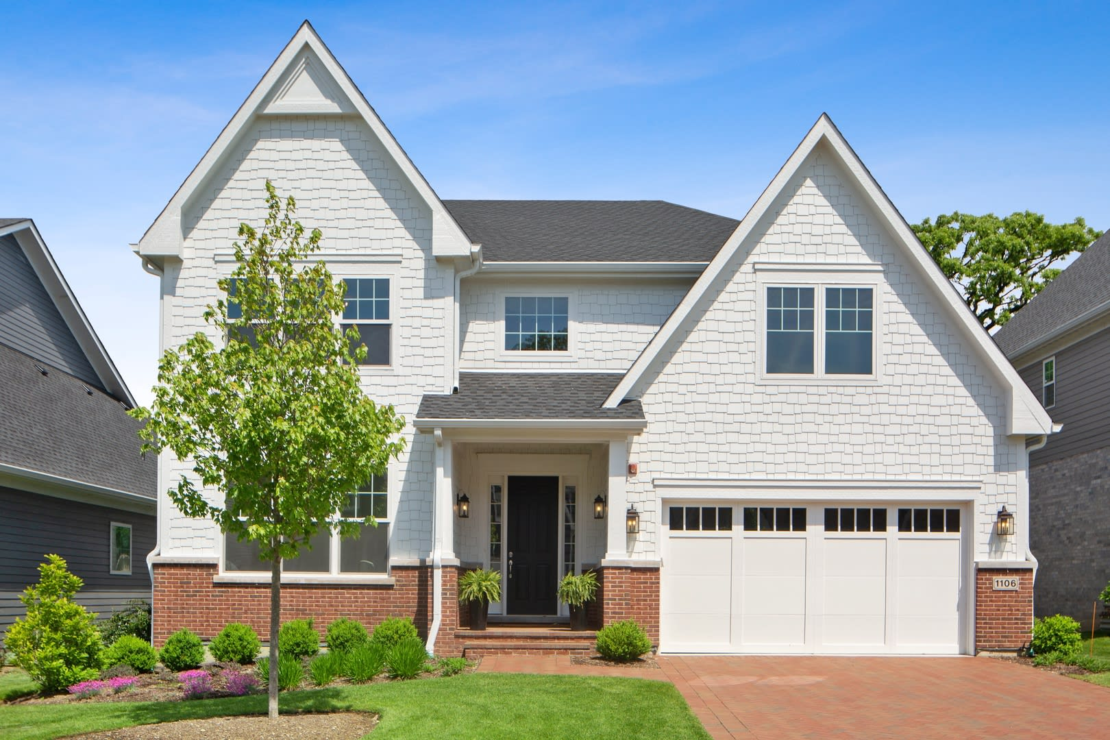 ideal new construction modern farmhouse