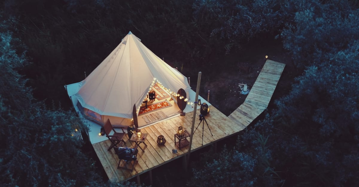 4 Amazing Places to go Glamping