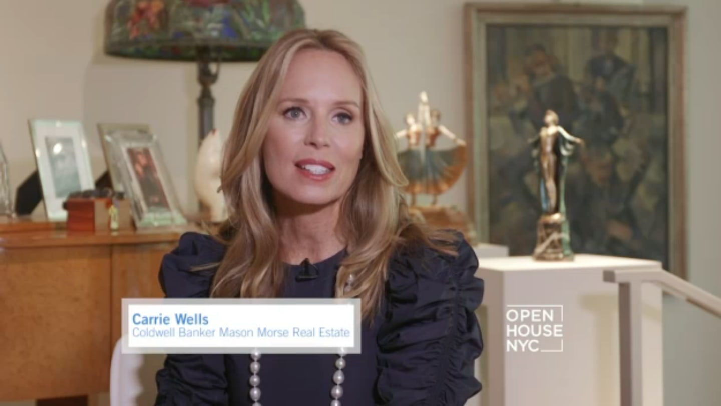 Carrie Wells On NBC Open House