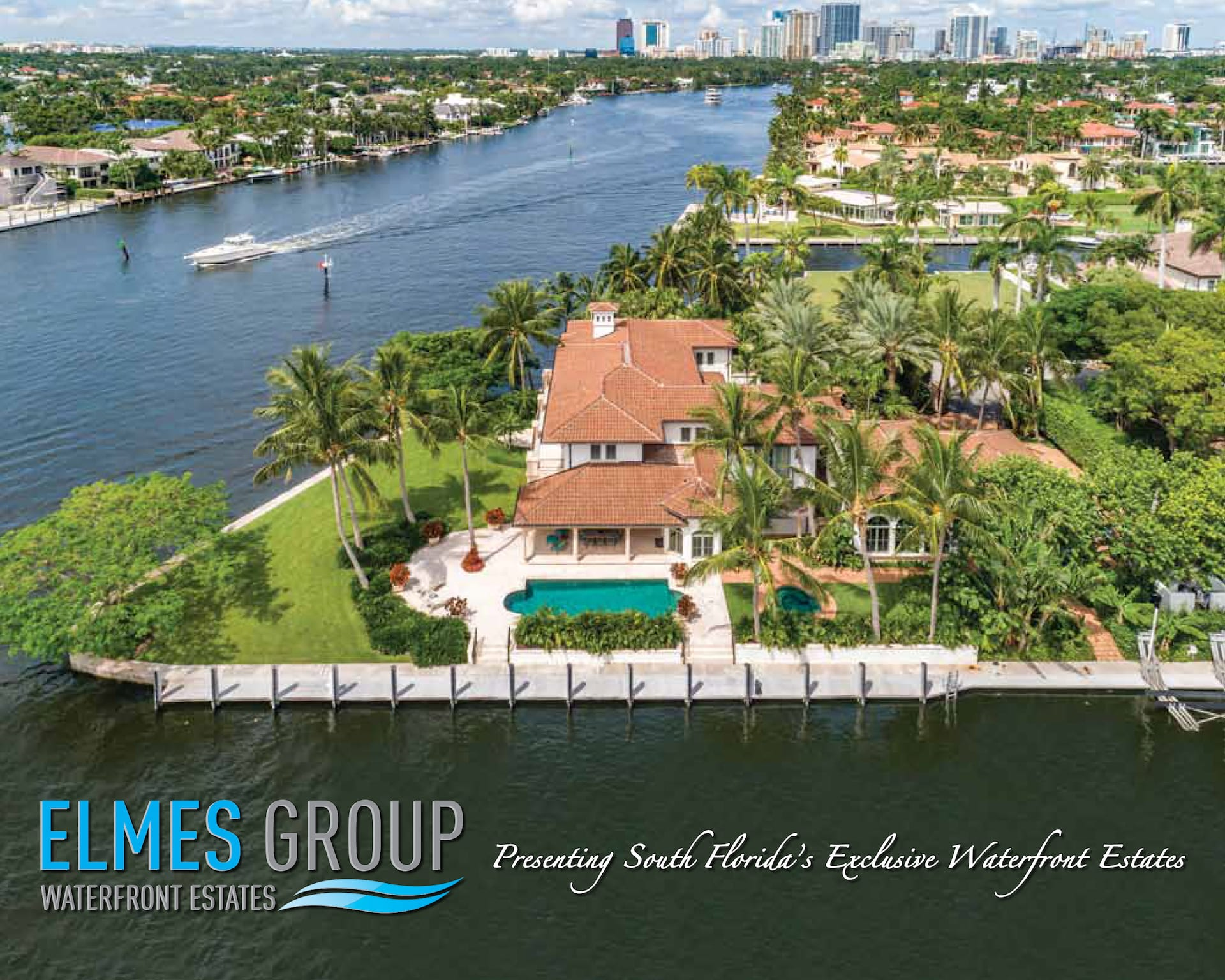 Presenting South Florida's Exclusive Waterfront Estates