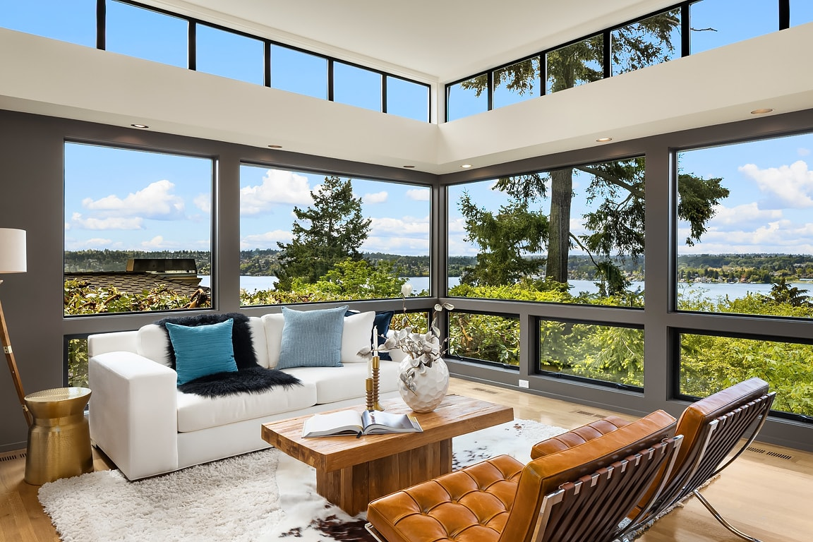 Mercer Island View Modern photo