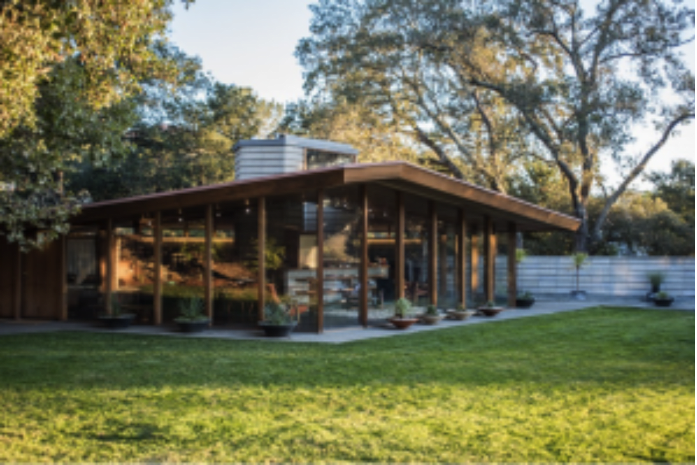 Napa Valley Mid Century Modern Home Featured in the Wall Street Journal