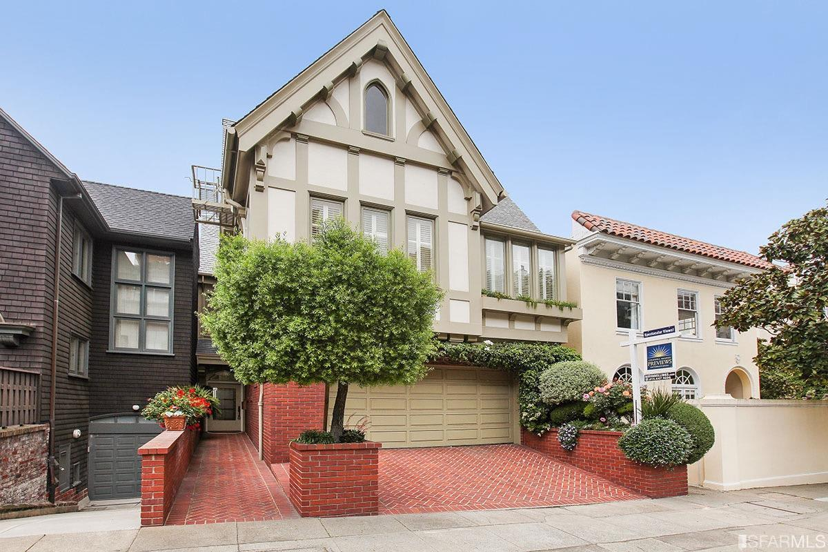 Pacific Heights Home With Spectacular Views