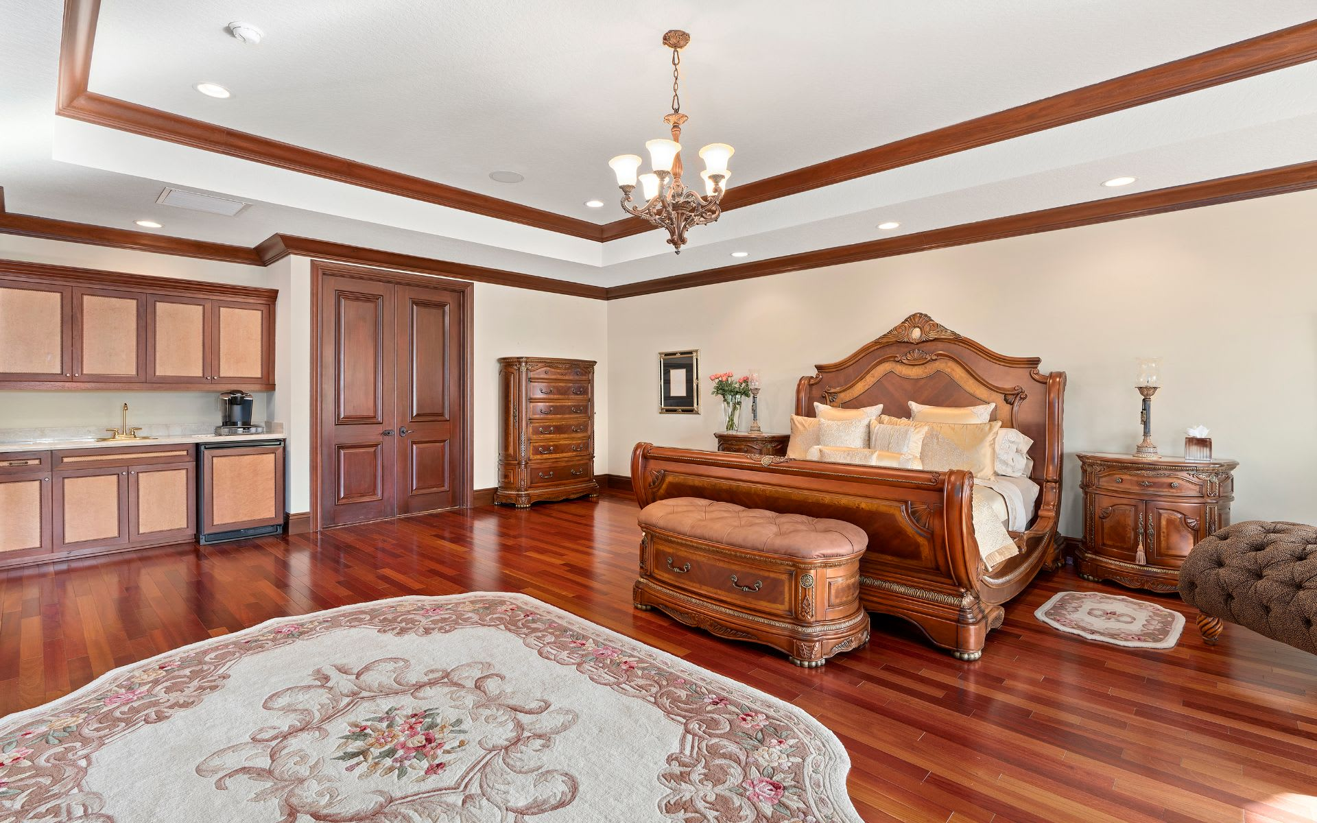 Magnificent Custom Home on an Interior Point Lot