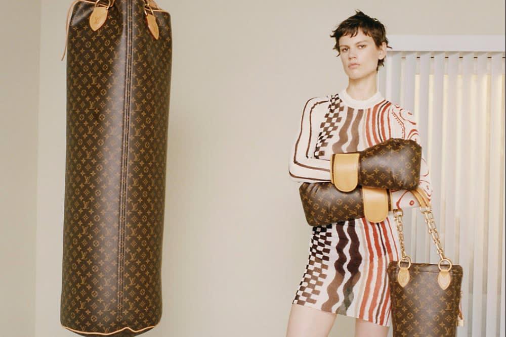 Luxury Punching Bag by Karl Lagerfeld?