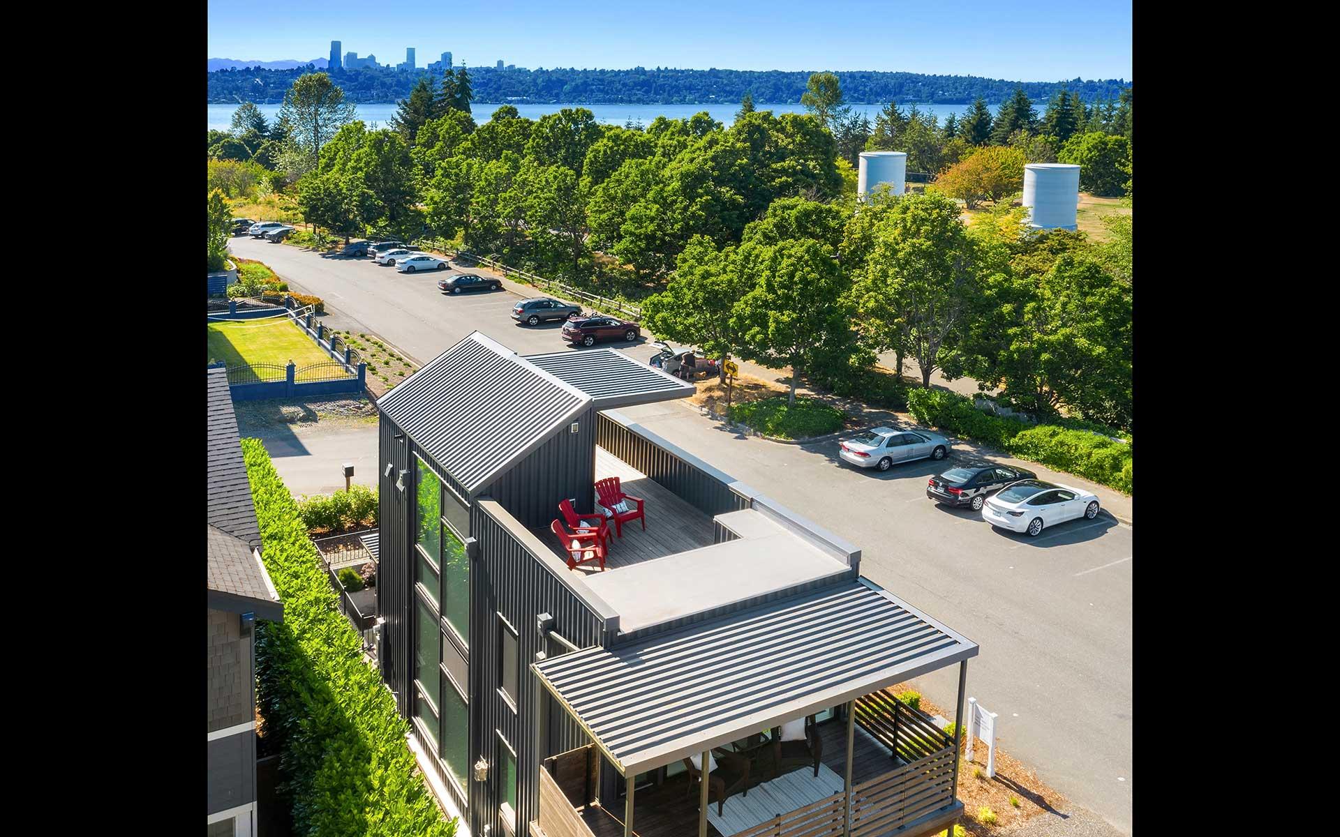 Custom North Mercer Island Modern photo