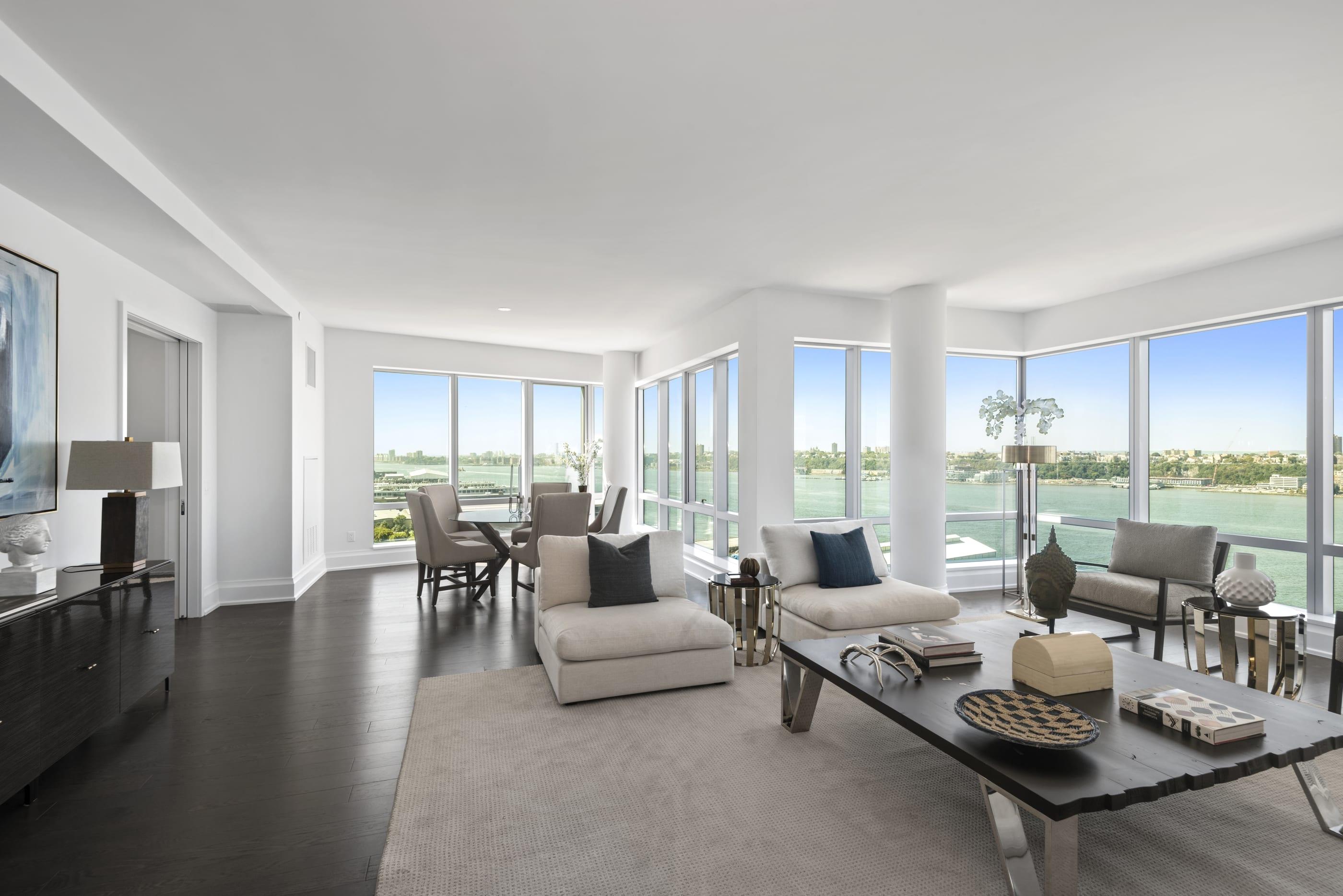 Waterfront luxury living