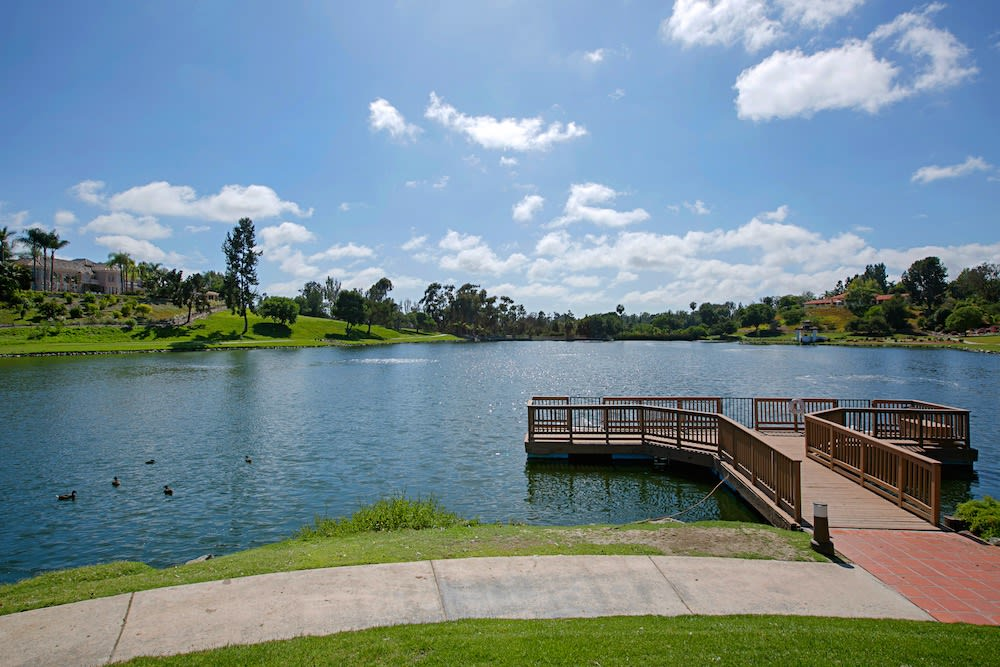 Fairbank Ranch homes by the water